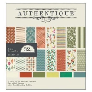 "Authentique Paper Bundle 6""X6"" - Tradition"