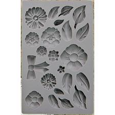 Prima Art Decor Mould - Rustic Fleur