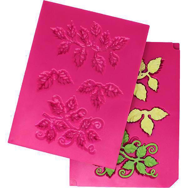 Heartfelt Creations Shaping Mold (form) - 3D Leafy Accents