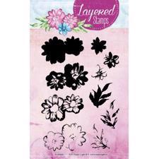Studiolight Clear Stamp - Layered Stamps No. 01 (marguerit)