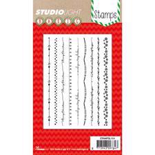 Studiolight Clear Stamp - Christmas Borders