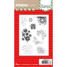 Studiolight Clear Stamp - Christmas Mixed Media