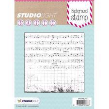 Studiolight Clear Stamp - Background / Music Notes