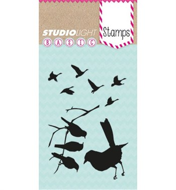 Studiolight Clear Stamp - Fugle