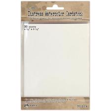 Tim Holtz Distress Watercolor Cardstock (postcard size)