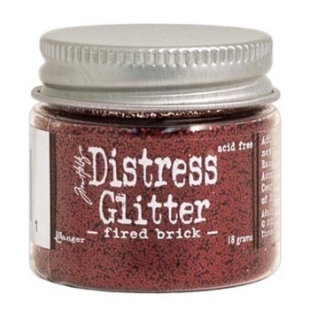 Distress Glitter - Fired Brick