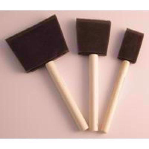 Foam Brush Set - Skumpensler (3 stk.)