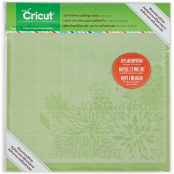 Cricut Cutting Mat - 2-pack (Standard Grip / grøn)