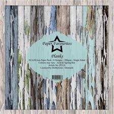 "Paper Favourites - Planks 12x12"" (stor)"