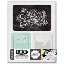 WRMK Albums Made Easy - Journaling & Die-Cut Cards / CHALKboard