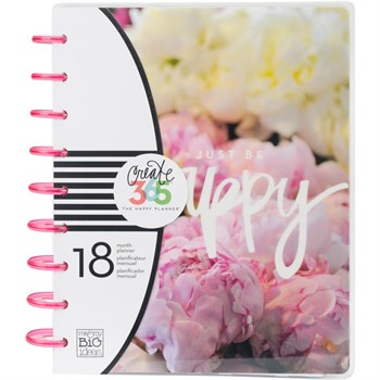 Happy Planner - Happy Planner / Peony Floral (std) 2016/2017