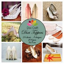 Dixi Craft Square Toppers - High Heels