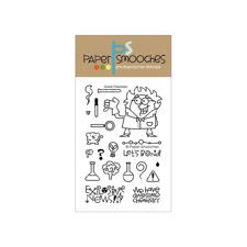 Paper Smooches Clear Stamp Set - Great Chemistry