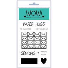 WOW Clear Stamp Set - Paper Hugs