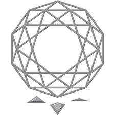 Spellbinders Shapeabilities - Decagon View