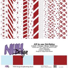 NHH Paper Pad 30x30 cm - All in One Birthday (stor)