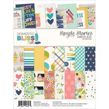 "Simple Stories Paper Pad 6x8"" - Domestic Bliss"