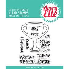 Avery Elle Clear Stamp - World's Greatest