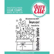 Avery Elle Clear Stamp - Critter Crew