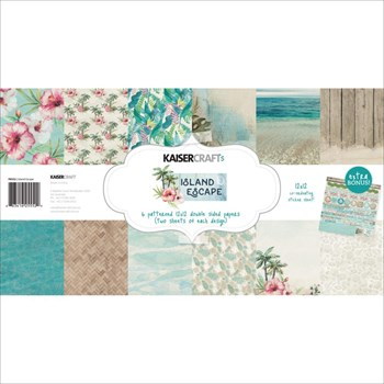 "Kaisercraft 12x12"" Paper Pack - Island Escape"