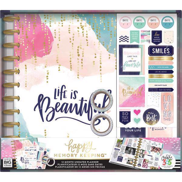 Happy Planner - BIG Happy Planner BOX Kit  / Life is Beautiful