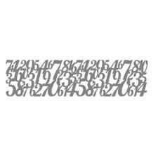 "Andy Skinner Stencil 3x12"" - Distressed Digits"