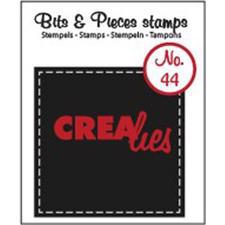 Clearstamp CreaLies - Bits & Pieces 44 (firkant)