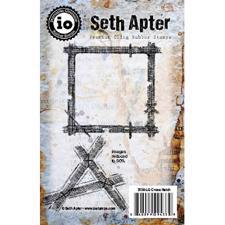 IO Stamps Cling Stamp - Seth Apter / Cross Hatch