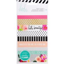 Heidi Swapp Planner System - Washi Book - 3 Sheets (45 Piece)