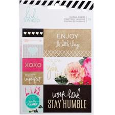 Heidi Swapp Planner System - Stickers Calendar - 2 Sheets (20 Piece)