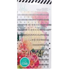 Heidi Swapp Planner System - Personal - Clear Dividers (6 Piece)