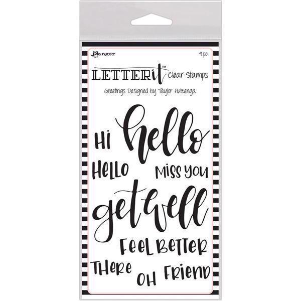 Ranger Letter It - Clear Stamps / Greetings