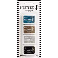 Ranger Letter It - Stamp Ink Set #1