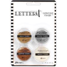 Ranger Letter It - Embossing Powder Kit / Tinsels