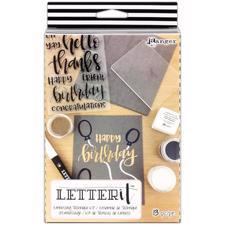 Ranger Letter It - KIT  / Embossing Technique Kit