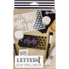 Ranger Letter It - KIT  / Perfect Pearls Technique Kit