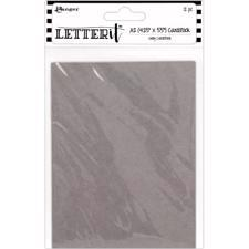 Ranger Letter It - Cardstock / Grey