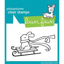Lawn Fawn Clear Stamp - Winter Bunny