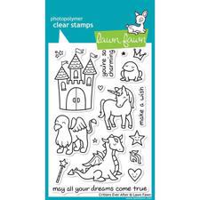 Lawn Fawn Clear Stamp Set - Critters Ever After