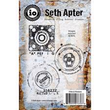 IO Stamps Cling Stamp - Seth Apter / Rotators