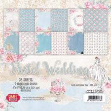 "Craft & You Paper Pad 6x6"" - Pastel Wedding"