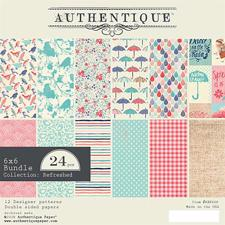 "Authentique Bundle 6x6"" - Refreshed"