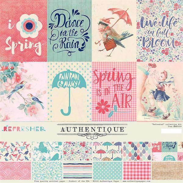 "Authentique Collection Kit 12x12"" - Refreshed"