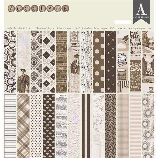 "Authentique Collection Kit 12x12"" - Accolade"