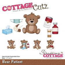 Cottage Cutz  Die -  Bear Patient