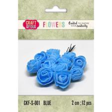 Craft & You Foam Roses - Blue