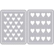Sizzix Thinlits - Hearts Journaling Cards