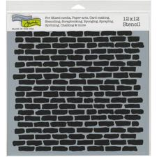 "Crafter's Workshop Template 12x12"" - Micro Bricks"