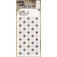 Tim Holtz Layered Stencil - Shifter / Star