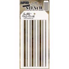 Tim Holtz Layered Stencil - Shifter / Mint